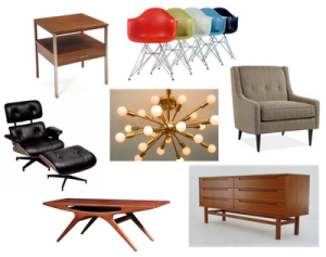 Mid Century Modern examples