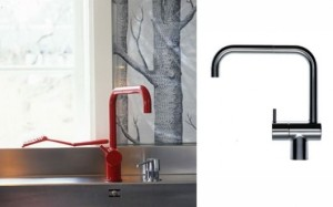 Vola Faucet in Cherry Red!
