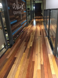 Whole Foods Coffee Shop Floor