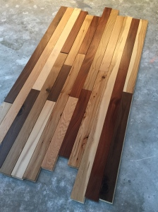 Flooring sample