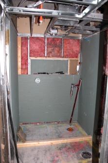 The shower niche