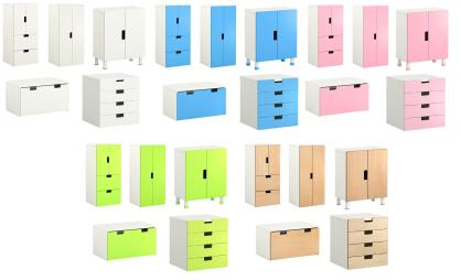 Stuva storage from Ikea